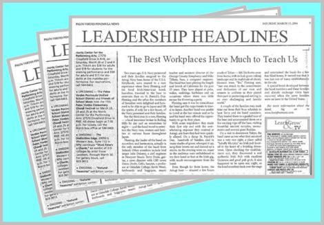 Leadership Headlines