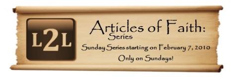Articles of Faith Announcement Banner