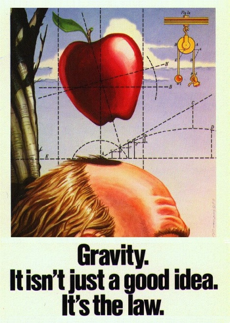 Gravity is the Law