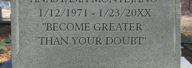 My Headstone