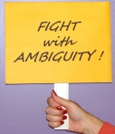 Fight With Ambiguity