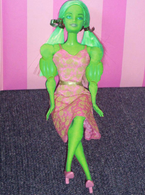 Barbie Hulk
