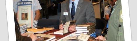 Lee Ellis Book Signing Polaroid