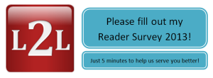 L2L Reader Survey 2013 banner