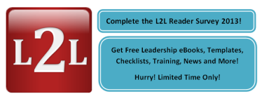 L2L Reader Survey 2013 Ad