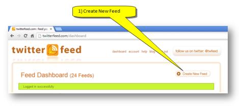 Create New Feed