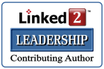 Linked2Leadership Contributing Author Badge