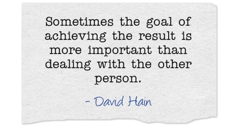David Hain on goals and bullying