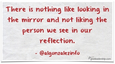 look in the mirror signed